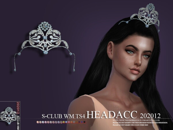 The Sims Resource: Headacc 202012 by S Club