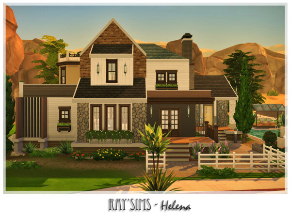 The Sims Resource: Helena House by Ray Sims