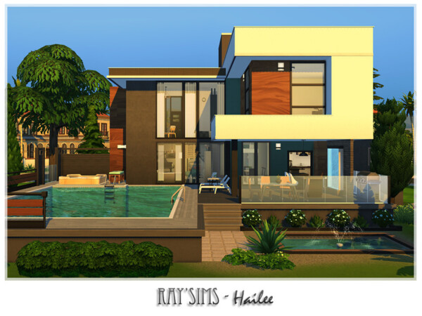 The Sims Resource: Hailee House by Ray Sims