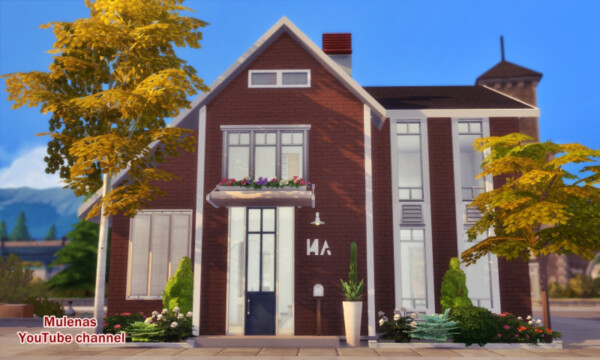 Sims 3 by Mulena: IKEA style house