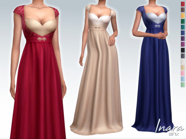 The Sims Resource: Inara Dress by Sifix