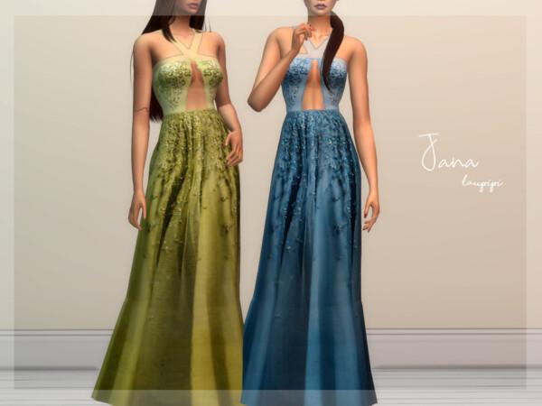The Sims Resource: Jana dress by Laupipi