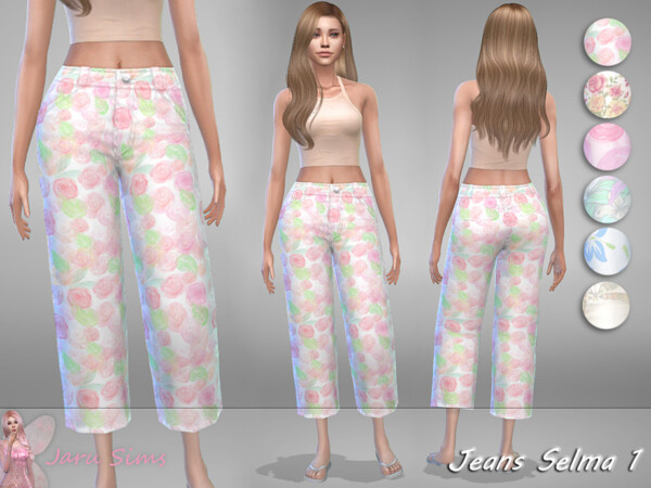 The Sims Resource: Jeans Selma 1 by Jaru Sims