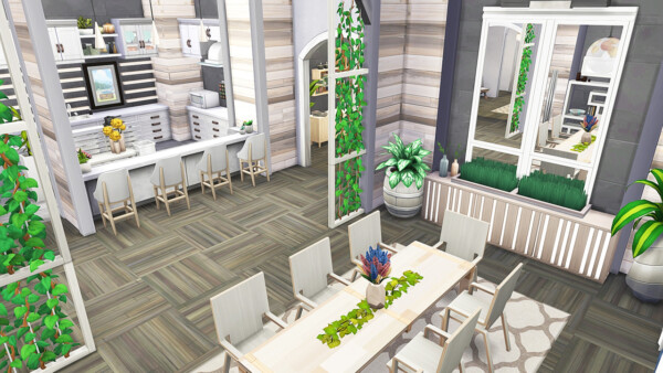 Aveline Sims: Large Apartment for Big Family