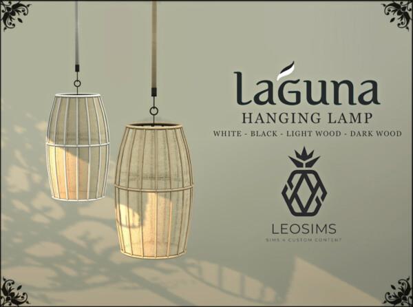 Leo 4 Sims: Laguna Hanging Lamp