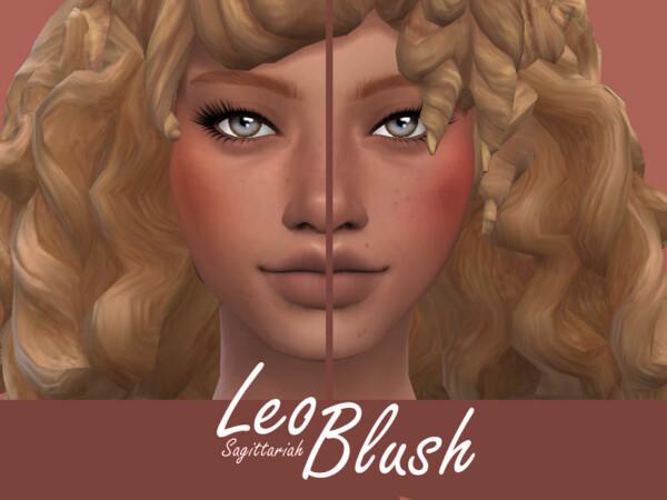 The Sims Resource: Leo Blush by Sagittariah