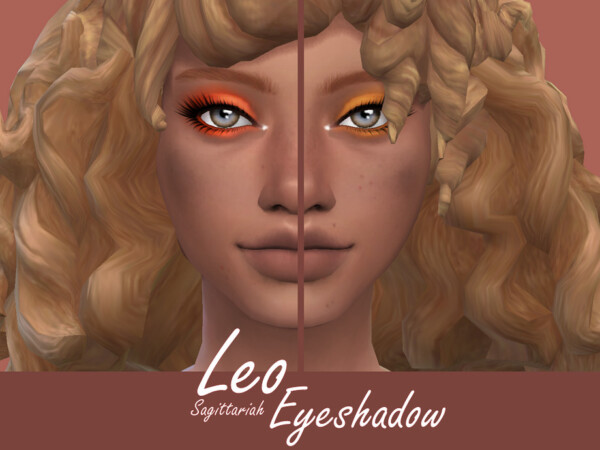 The Sims Resource: Leo Eyeshadow by Sagittariah