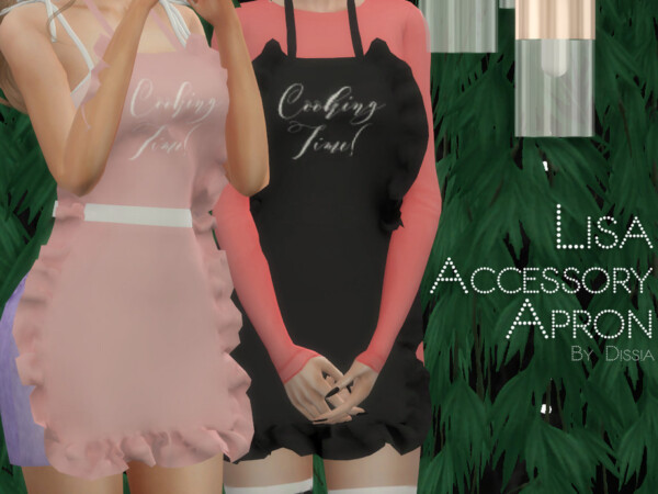 The Sims Resource: Lisa Apron by Dissia