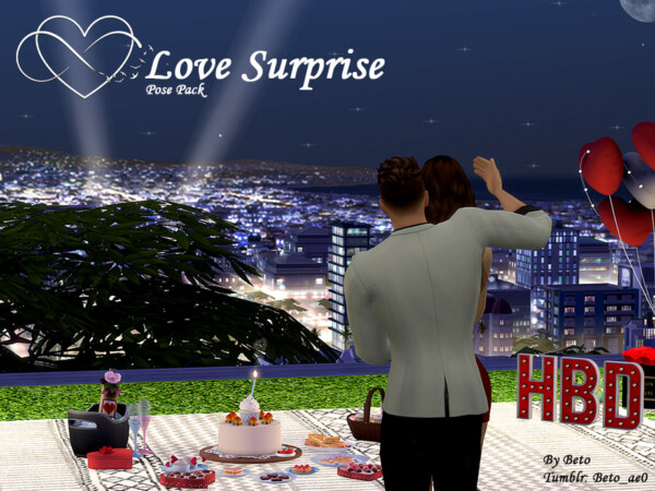 The Sims Resource: Surprise Pose pack