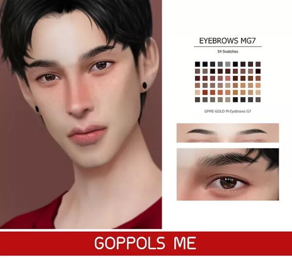 GOPPOLS Me: M Eyebrows G7