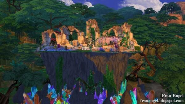 Frau Engel: Magical Ruins Sparkd Challenge