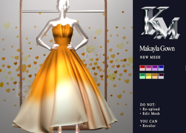 KM: Makayla Gown
