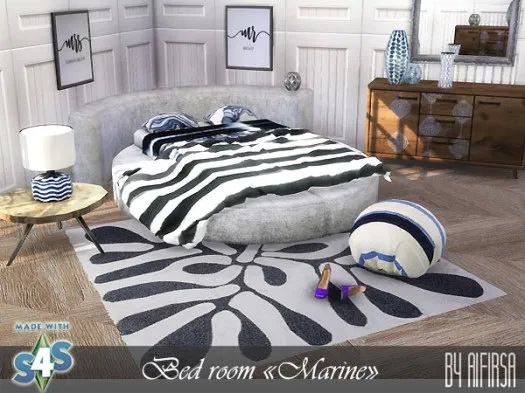 Aifirsa Sims: Marine Bedroom