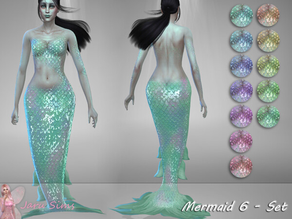The Sims Resource: Mermaid 6 by Jaru Sims