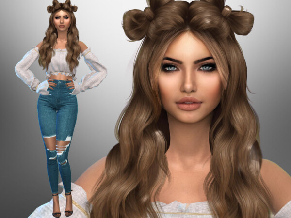 The Sims Resource: Michelle Demarco by divaka45