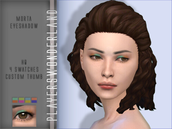 Players Wonderland: Hun Eyeshadow, V Hairstyle and  Morta Eyeshadow