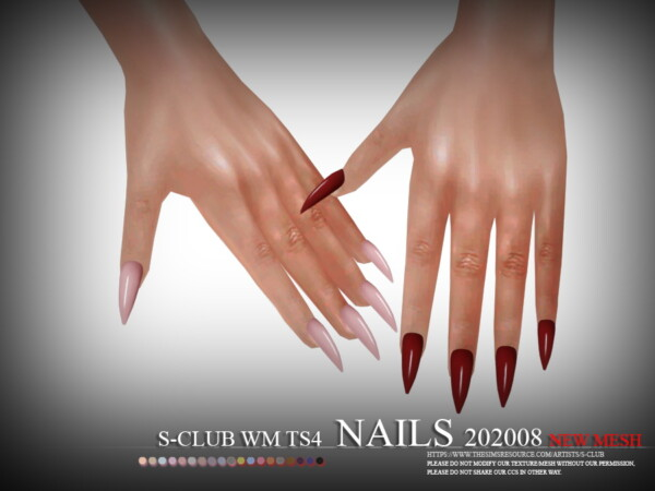 Nails 202008 by S Club from TSR