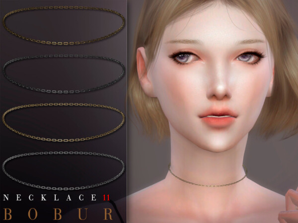 The Sims Resource: Necklace 11 by Bobur