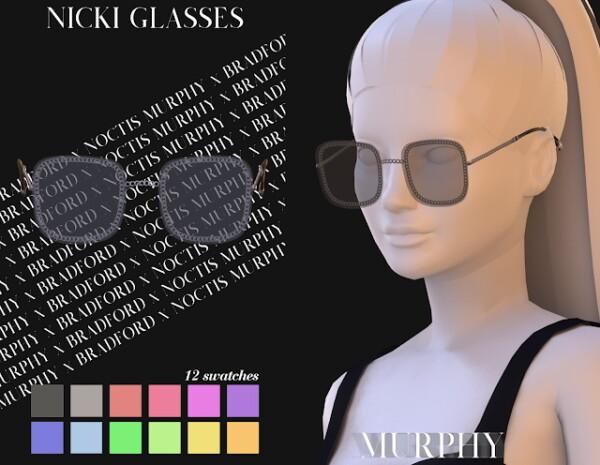 Nicki Glasses from Murphy