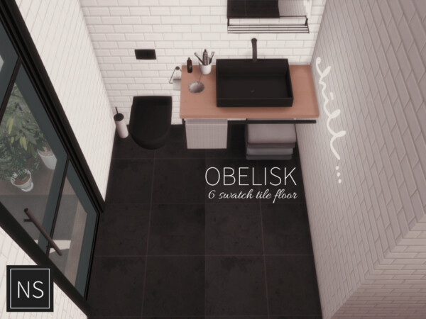 The Sims Resource: Obelisk Tile Floor by networksims