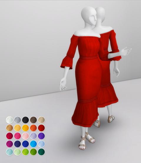 Rusty Nail: Off Shoulder Mini Dress