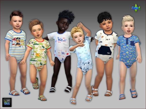 Arte Della Vita: Onesies and sandals for toddler boys