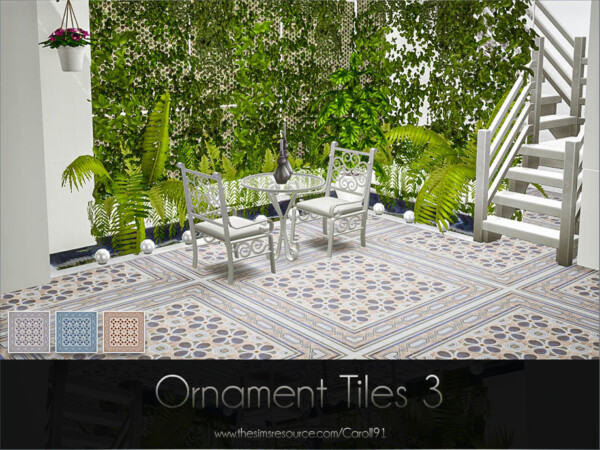The Sims Resource: Ornament Tiles 3 by Caroll91