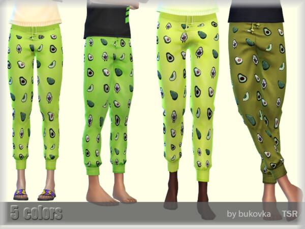 The Sims Resource: Pants Avocado by bukovka