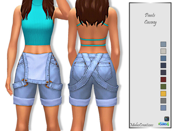 The Sims Resource: Pants Cocovy by MahoCreations