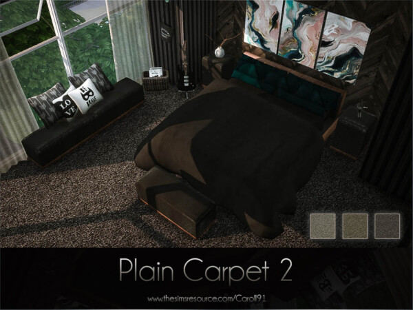 The Sims Resource: Plain Carpet 2 by Caroll91