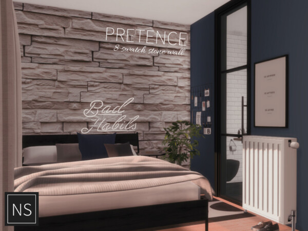 The Sims Resource: Pretence Stone Walls by networksims