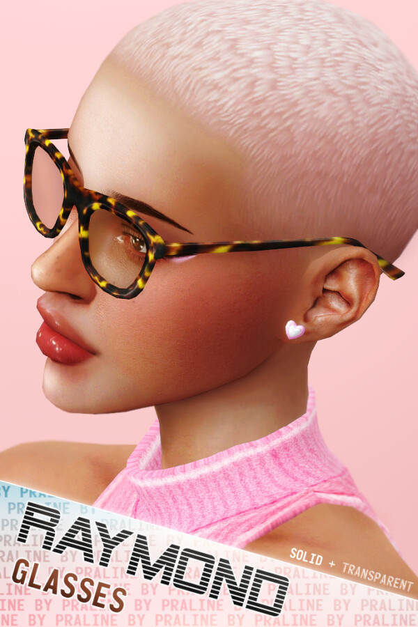 Praline Sims: Raymond Glasses