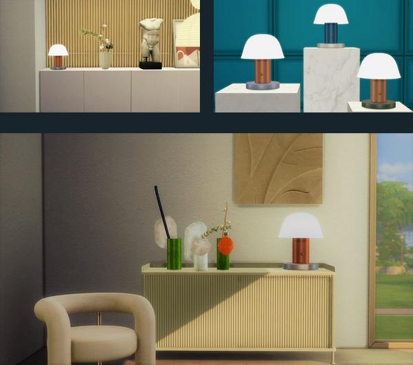 Meinkatz Creations: Setago Table Lamp