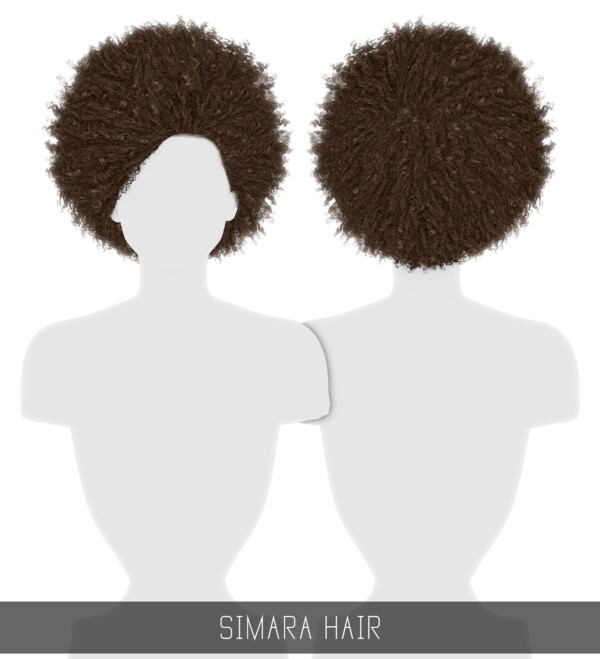 Simara hairstyle from Simpliciaty