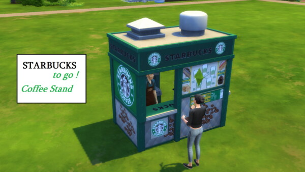 Mod The Sims: Starbucks To Go by ArLi1211