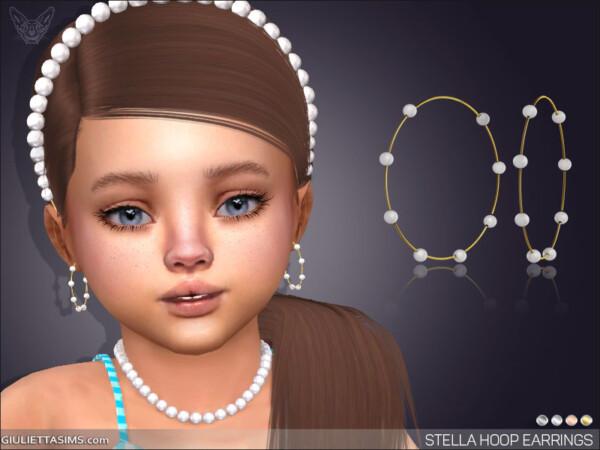 Giulietta Sims: Stella Hoop earrings