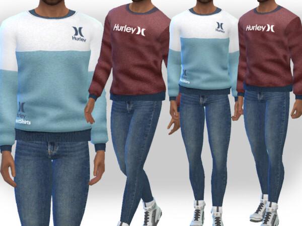 The Sims Resource: SweatShirts by Saliwa