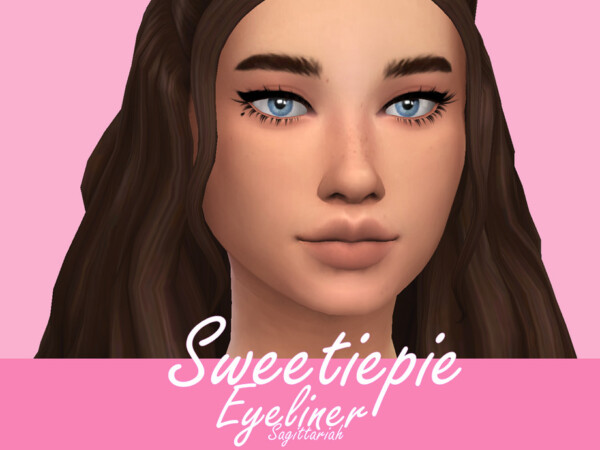 The Sims Resource: Sweetiepie Eyeliner by Sagittariah