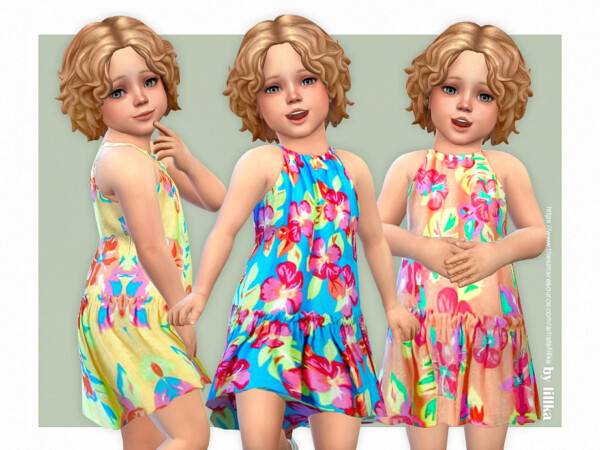 The Sims Resource: Toddler Dresses Collection P151 by lillka