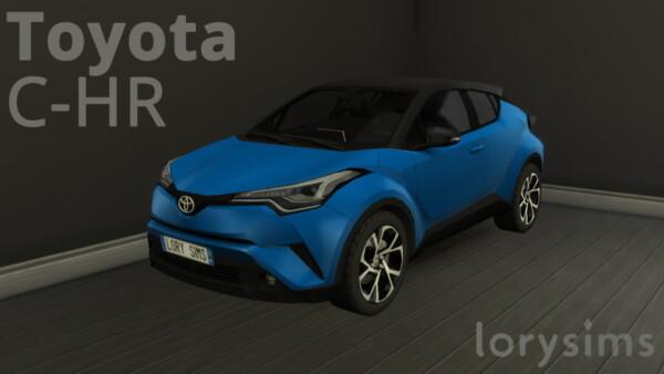 Lory Sims: Toyota C HR