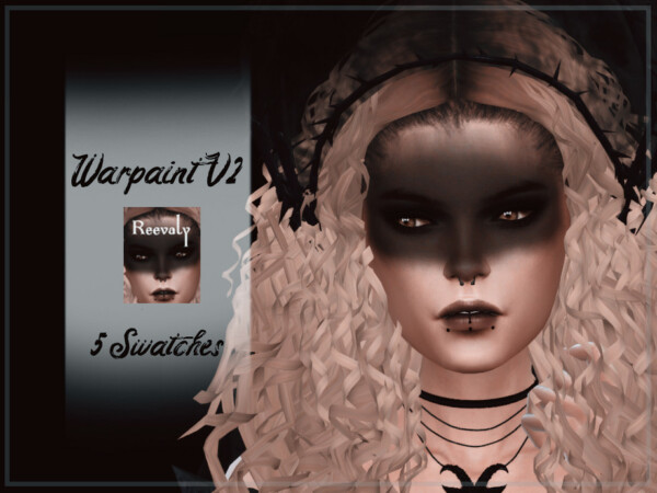 The Sims Resource: Warpaint V2 by Reevaly