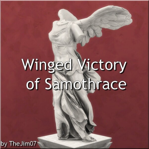Winged Victory of Samothrace by TheJim07 from Mod The Sims