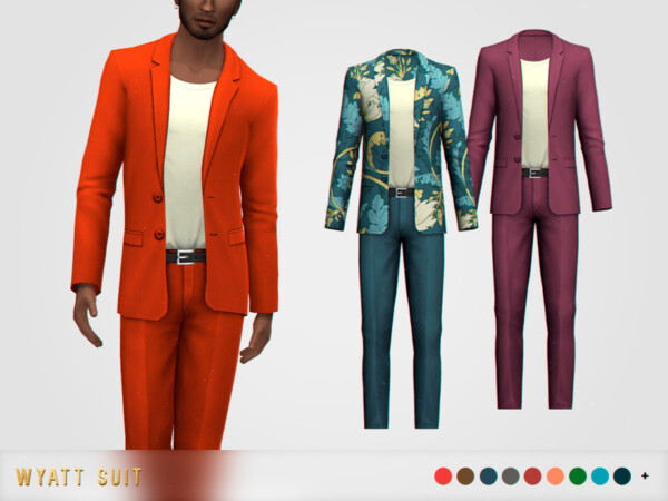 The Sims Resource: Wyatt Suit by pixelette