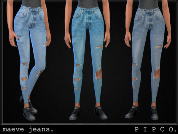 Maeve jeans set by Pipco from TSR