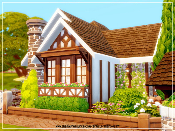 Tiny Tudor Cottage Home Nocc by sharon337 from TSR