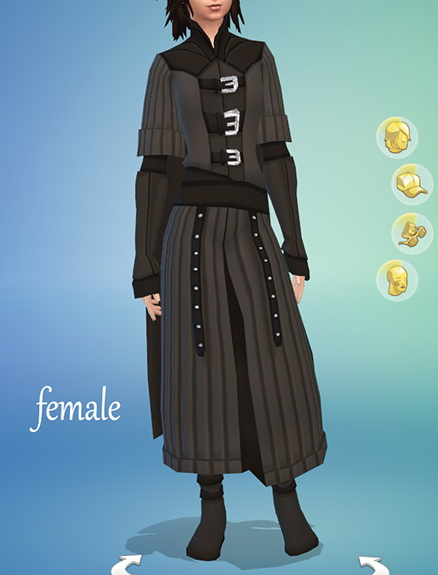 Medieval Vampire Outfit by kennetha v from Mod The Sims