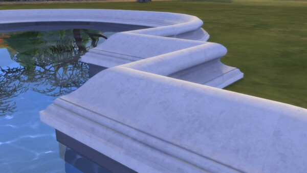 Fountain Edge Set by TheJim07 from Mod The Sims