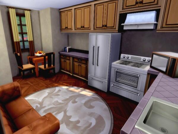 Oak little base game cabin by GenkaiHaretsu from TSR