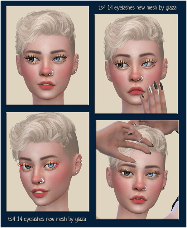 Eyelashes 14 from All by Glaza