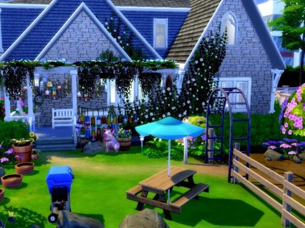 Farm Blue Home by GenkaiHaretsu from TSR